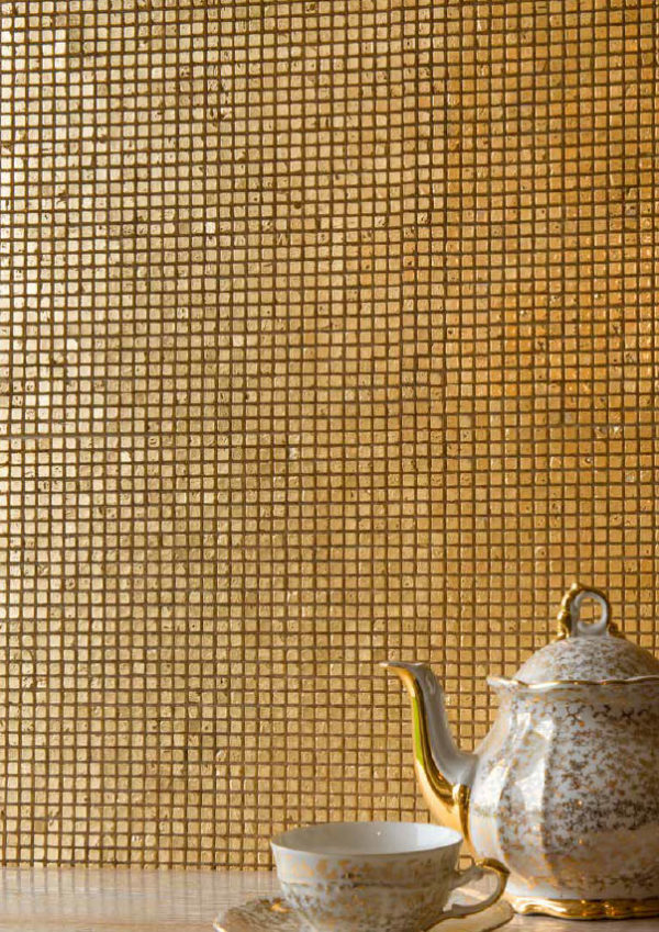 Micromosaico Oro