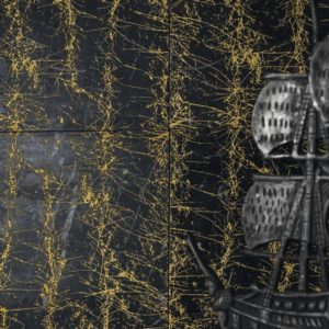 PIXEL BLACK GOLD POWDER MARQUINIA